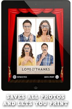 24 best photo booth images on pinterest wedding ideas wedding diy photo booth app for you ipad solutioingenieria Gallery