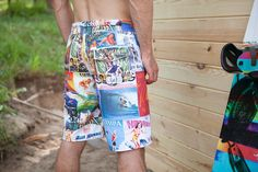 Made in cooperation with instructors of kite- and windsurfing!   Men's boardshorts perfect for all watersports lovers (kitesurfing, windsurfing, wakeboarding etc.) Made of slightly stretchable,...