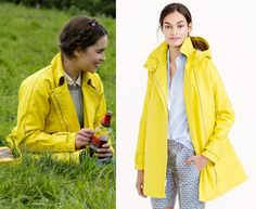 71303050a8a lou me before you movie yellow trench coat jacket clark