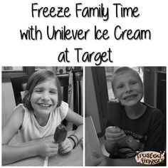 Sponsored Pin: Freeze Family Time with a Buy 3, Get 1 Free Promotion #Target on Unilever Ice Cream Novelties. #FreezeFamilyTime