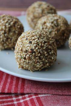 Almôndega de lentilha com sementes