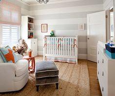 Decoração de quarto de bebê masculino