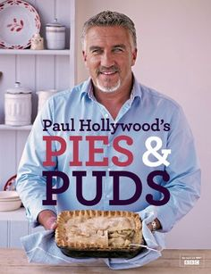 The son of a butcher, Paul Hollywood has shot to fame with his role as a judge on 'The Great British Bake Off'. This book features his best recipes for pies and puds. Paul Hollywood Pies And Puds, Paul Hollywood Bread, Paul Hollywood Ube Cake, Paul Hollywood Recipes Pies, British Baking Show Recipes, British Bake Off Recipes, Great British Bake Off, Mary Berry, Tom Kerridge