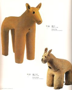 Haniwa - dog - rabbit. The smile in japanese Art - from the Jomon Period to the Early Twentieth Century
