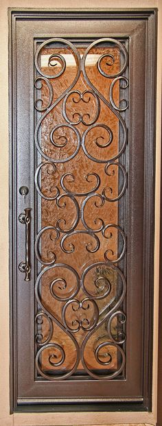 iron doors | Signature Iron Entry Door