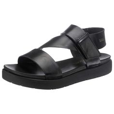 Modisch, bequem und einzigartig leicht sind die bugatti Sandaletten, die per praktischem Klettverschluss schließen und mit ihrer schimmernden Synthetik-Oberfläche einiges hermachen.