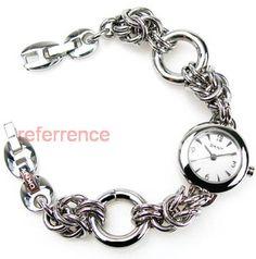 chainmaille watch/bracelet - hhmmm, inspiration