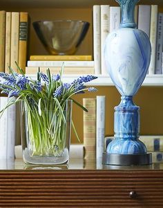 hyacinths | interior design by steven gambrel