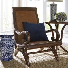 Cebu Plantation Chair - Tobacco Brown Living Room Kitchen, Living Room Chairs, Leather Couch Decorating, Palmer House, Cebu, Room Themes, Contemporary Furniture, Living Room Designs, Men's Fitness Tips
