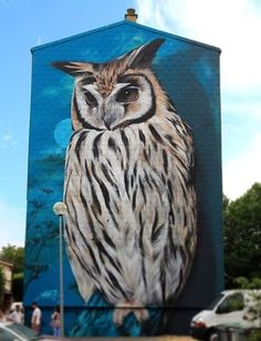 My Owl Barn: 10 Awesome Owl Artwork by Street Artists