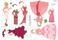 Paper Doll All In Pink Corey Jensrn
