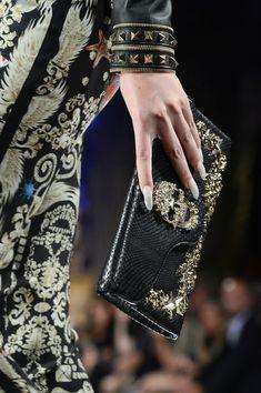"The ""skull fashion"" of German designer PHILIPP PLEIN, Evening bag Spring 2013"