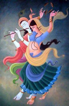 3325 Best Radha Krishna paintings images in 2019 | Lord krishna