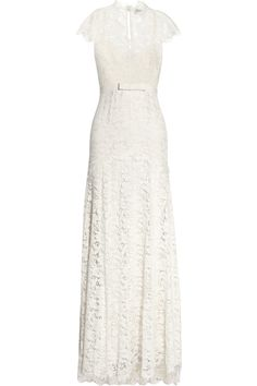 Oh this dress. Love!  Temperley London | Floral lace and silk gown | NET-A-PORTER.COM