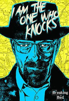 #Breaking bad #walter white a3 poster print art #bb03- i am the one who knocks,  View more on the LINK: http://www.zeppy.io/product/gb/2/291027737345/