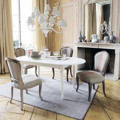 Stuhl mit roten Streifen Adélaïde | Maisons du Monde