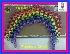 Create a class rainbow chain to help foster teamwork and friendship in your classroom!