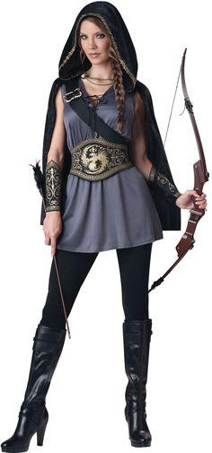 df2a777e67d Adult Huntress Halloween Costume - Women Costumes
