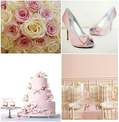 Pink, cherry blossom cake is so lovely
