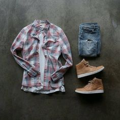 Teen Boy Fashion, Tomboy Fashion, Look Fashion, Urban Fashion, Mens Fashion, Fashion Outfits, Hype Clothing, Mens Clothing Styles, Mode Man