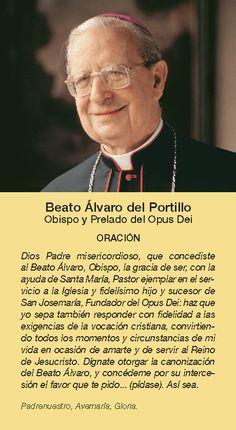 Opus Dei - Oración por la intercesión del Beato Álvaro