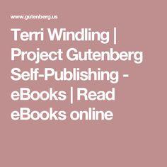Terri Windling   Project Gutenberg Self-Publishing - eBooks   Read eBooks online