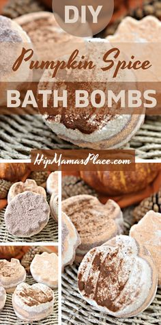 Elevate your mood and make time for self-care with this easy pumpkin spice fall bath bombs DIY! Read on for the full tutorial at HipMamasPlace.com! #bathbombs #fallbathbombs #pumpkinspice #fallbeauty #DIYbeauty #DIY #beautyrecipes #bathbombrecipes #craftblogger #lifestyleblogger #DIYgifts #handmadegifts #handmade #madewithlove #hipmamasplace