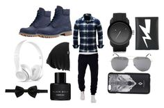 """""""Date night"""" by sophiaisastar ❤ liked on Polyvore featuring Timberland, Diesel, Neil Barrett, Burton, Yves Saint Laurent, Marcelo Burlon, Beats by Dr. Dre, Kenneth Cole, Dolce&Gabbana and men's fashion"""