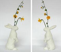 Rabbit Vase #rabbit #art #vase #dutchdesign