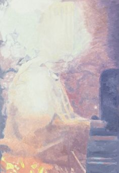 Luc Tuymans, In the Kitchen, 2013, 232,4 x 161,3 cm, oil on canvas