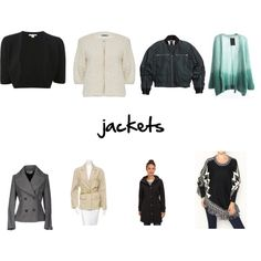 """""""jackets"""" by amarii-henry on Polyvore"""