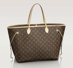 This LV purse holds everything!