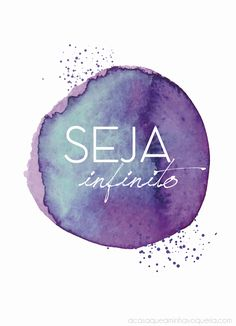 "Freebie: Wallpaper ""SEJA infinito"""