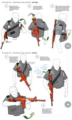 Storage & Clean Shot Body Armour System for the Carbine Assault Rifle. Developed for the Irish Special Forces. Tactical Survival, Tactical Gear, Survival Gear, Survival Skills, Assault Rifle, M4 Carbine, Tac Gear, Military Gear, Body Armor