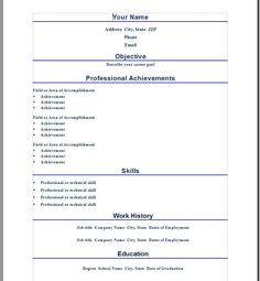 professional resume template for word httpwwwresumecareerinfo