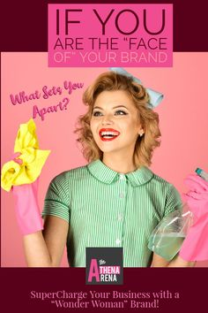 "If you only describe what you do like: ""I am high end house cleaner,  or ""I am a life coach"" or ""I am a web designer...you're missing the boat! What really sets you apart from the rest?   SuperCharge your business with a ""Wonder Woman Brand""  here.  #personalbrand #personalbranding #PersonalBrandConsultant #BrandBuilders #SmallBusinessBranding #BrandingYourBusiness #WomenEntrepreneurs #WomenInBiz #Solopreneurs #WonderWomanBrands #TheAthenaArena"