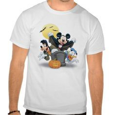 Disney Halloween Mickey & Friends Tee Shirt http://www.zazzle.com/disney_halloween_mickey_friends_tee_shirt-235783863426131037?rf=238675983783752015