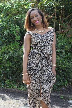 Fabric Express Animal Print Iro and Buba by Zerefashionhouse, £40.00