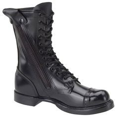 Up for sale is a new pair of Corcoran 995 Black Leather Side Zipper Jump Combat Boots. Men's Size 13 D Men's Shoes, Shoe Boots, Dress Shoes, Tall Boots, Black Leather Boots, Leather Shoes, Corcoran Boots, Nike Sfb, Duty Boots