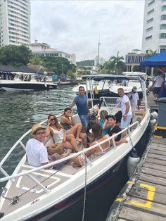 CLIENTES SATISFECHOS! GRACIAS POR CONFIAR EN NOSOTROS! #Botes #yates #islas contáctanos  3016250529  Www.cartagenaservice.com