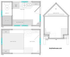 planos de una tiny house