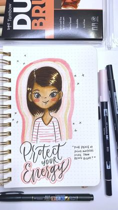 Mixed Media Faces, Sharpie Doodles, Tombow Dual Brush Pen, Human Figure Drawing, Hand Lettering Tutorial, Watercolor Journal, Cool Art Drawings, Watercolor Techniques, Drawing People