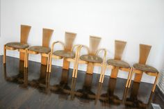 Rare Torstein Nielsen Møremøbler A/S (Westnofa) - Ørsta Norway Norwegian Ash 6 Dining Chairs Totem 20th Century Vintage Retro Danish era in VIC   360 Modern Furniture eBay