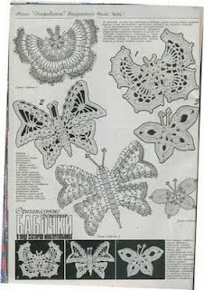 Butterfly with diagram (group #2)