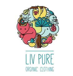 Liv Pure Organic Clothing on Behance