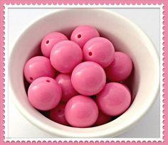 Bubblegum beads necklace, bubblegum beads product, bubblegum beads supplies, bubble gum beads etsy, bubblegum beads DIY, bubblegum beads bubblegum bead jewelry supplies, Chunky beads Bubblegum beads Hot Pink Gumball by Urbancitysupplies