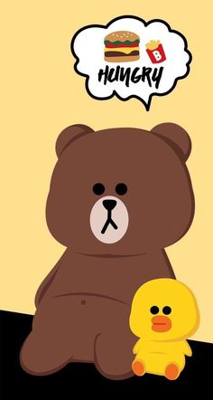 Abstract Iphone Wallpaper, Lines Wallpaper, Brown Wallpaper, Bear Wallpaper, Cute Anime Wallpaper, Cute Cartoon Wallpapers, Line Brown Bear, Brown Line, Cute Love Pictures