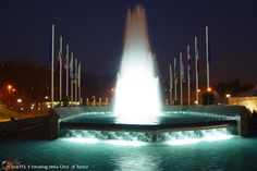 La fontana luminosa di Italia \'61 - Torino
