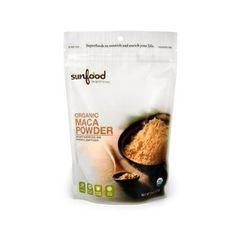$8.77: Sunfood Maca Powder Certified Organic Raw 8oz