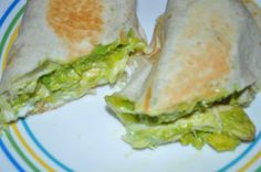 Cut in half or eaten whole, this is a delicious recipe you just won't be able to get enough of! Creamy Avocado Chicken Wrap